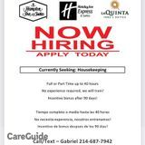 Housekeeper Job in Dallas