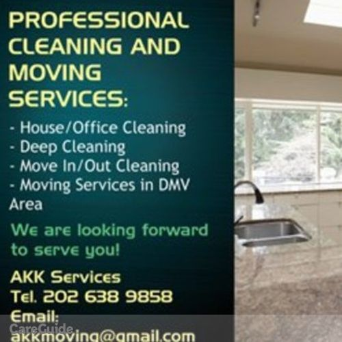 Housekeeper Provider AKK Services Brown's Profile Picture