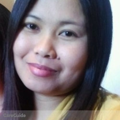 Canadian Nanny Provider Shirley Mahinay's Profile Picture