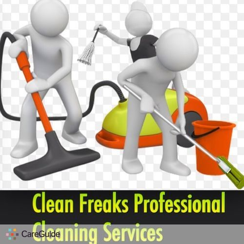 Housekeeper Provider Clean Freaks Professional Cleaning Services's Profile Picture