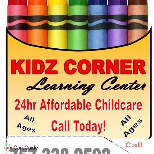 Child Care Provider Kidz Corner Learning Center's Profile Picture