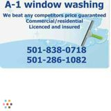 A-1 Window Washing Maid service/ janitorial / junk removal