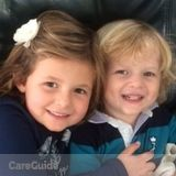 Looking for an energetic, fun and responsible nanny for our two little kiddies