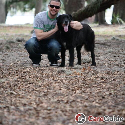 Pet Care Job Jeffrey F's Profile Picture