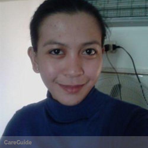 Canadian Nanny Provider Novilyn E's Profile Picture