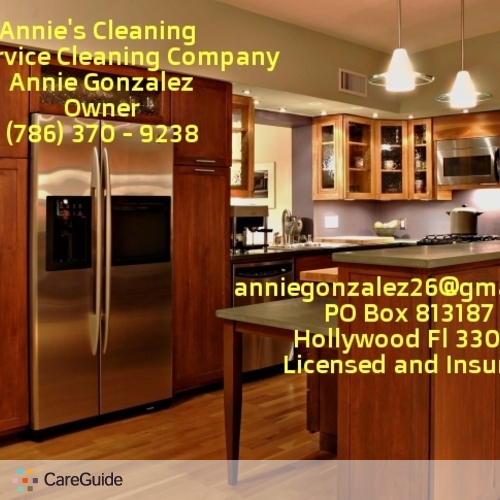 Housekeeper Provider Annie G's Profile Picture