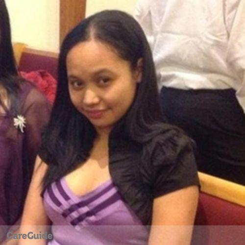 Canadian Nanny Provider Jenefil Cuta's Profile Picture