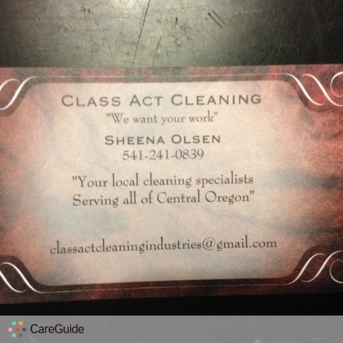 Housekeeper Provider Sheena Olsen's Profile Picture