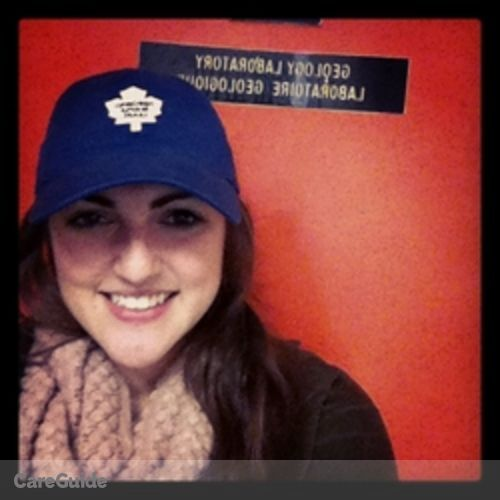 Canadian Nanny Provider Julia Oliver's Profile Picture
