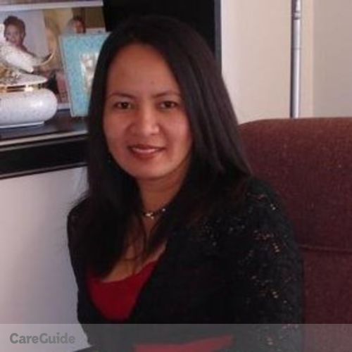 Canadian Nanny Provider Elenita Malana's Profile Picture