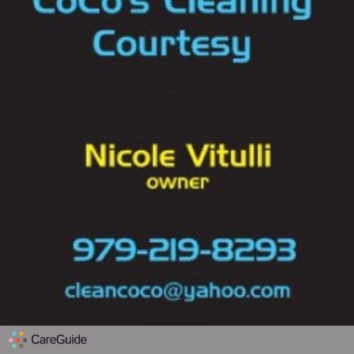 Housekeeper Provider Nicole V's Profile Picture