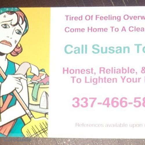 Housekeeper Provider Susan M's Profile Picture