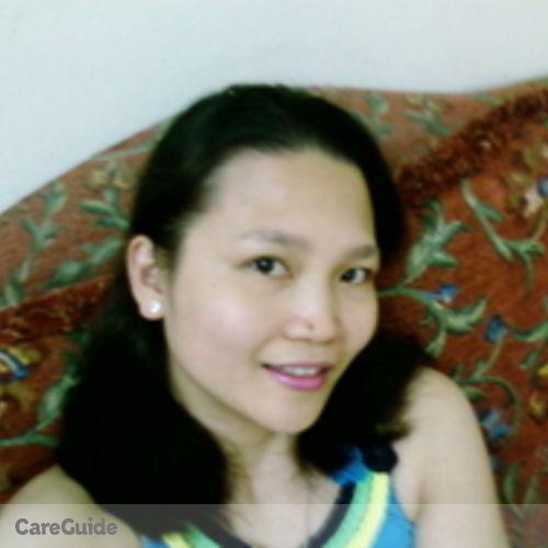 Canadian Nanny Provider Claudette Udarbe's Profile Picture