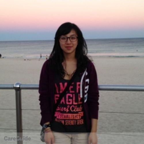 Canadian Nanny Provider Michelle Jeong's Profile Picture