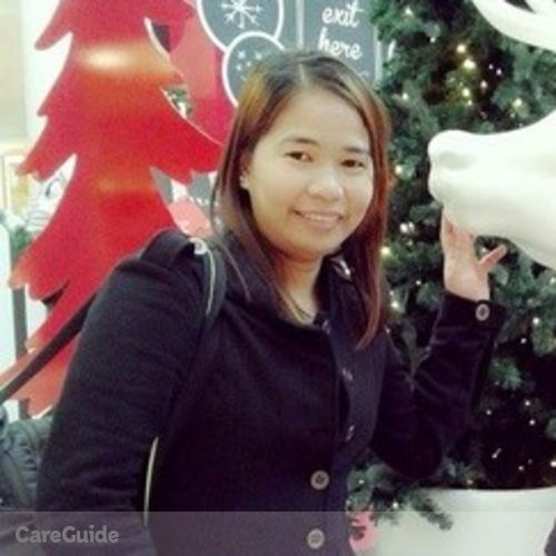 Canadian Nanny Provider Abby Gail Tanala's Profile Picture