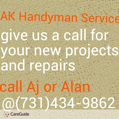 Handyman Provider Aj or Alan's Profile Picture