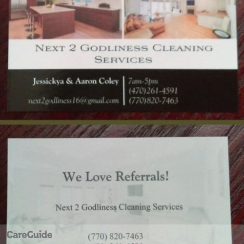 Housekeeper Provider Next 2 Godliness Cleaning Services's Profile Picture