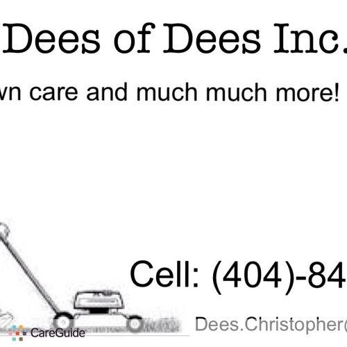 Landscaper Provider Chris Dees's Profile Picture