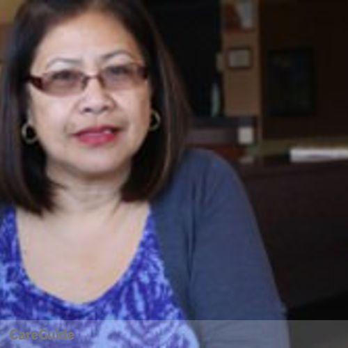 Canadian Nanny Provider Estrellita Paguio's Profile Picture