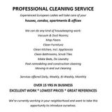 Housekeeper in Commerce Townshi