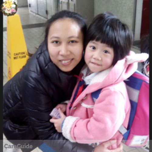 Canadian Nanny Provider Mia Llena's Profile Picture