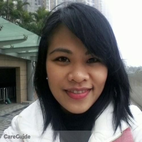 Canadian Nanny Provider Mylene Tabago's Profile Picture
