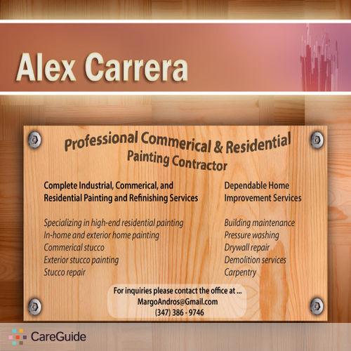 Painter Provider Alex Carrera's Profile Picture