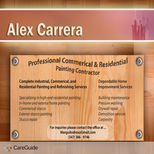Painter Provider Alex C's Profile Picture
