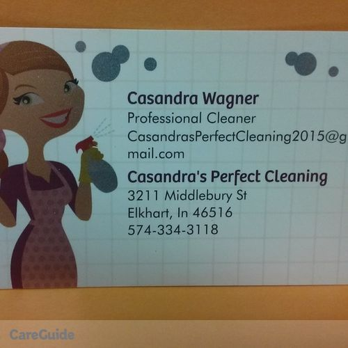 Housekeeper Provider Casandra Wagner's Profile Picture