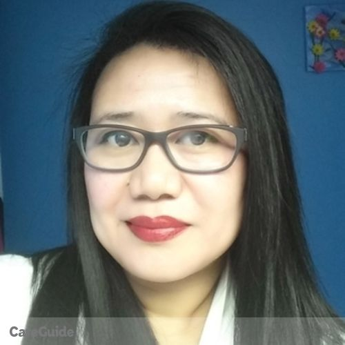 Canadian Nanny Provider Cherry Orines's Profile Picture