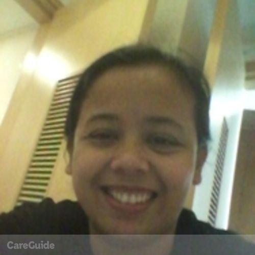 Canadian Nanny Provider Gladys Orcilla's Profile Picture