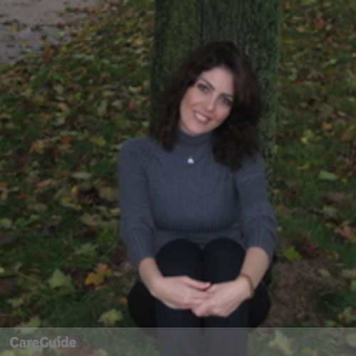 Canadian Nanny Provider Maryam Latifpoor's Profile Picture