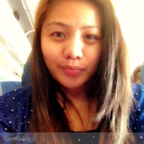 Canadian Nanny Provider Myla blossomm Mariano's Profile Picture