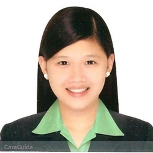 Canadian Nanny Provider Ranelle Anne Mercado's Profile Picture