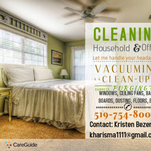 Housekeeper Provider Kristen Bezemer's Profile Picture