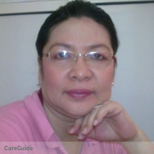 Canadian Nanny Provider Carmelita Rieza's Profile Picture