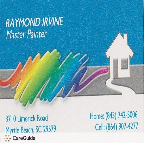 Painter Provider Raymond Irvine's Profile Picture
