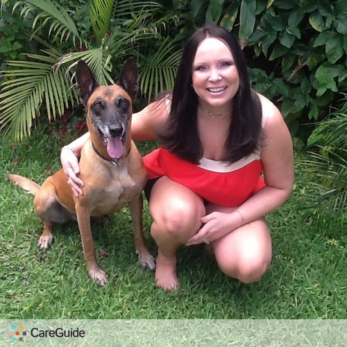 Pet Care Provider Justine Pfund's Profile Picture