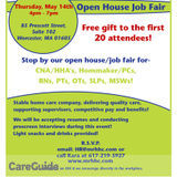 Job Fair For Healthcare Industry Professionals!