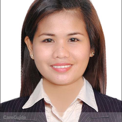 Canadian Nanny Provider Cristina Asadon's Profile Picture