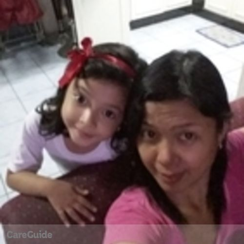 Canadian Nanny Provider Arlene Maniago's Profile Picture