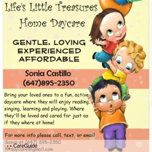 Child Care Provider Lifes Little Treasures Daycare S's Profile Picture