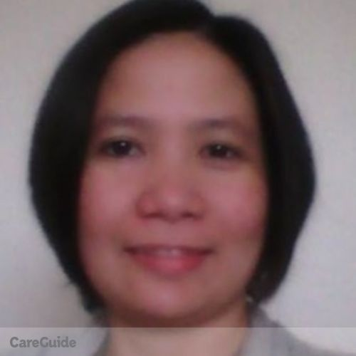 Canadian Nanny Provider Mary Ann Felizardo's Profile Picture