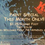 General contractor paining special high-quality work