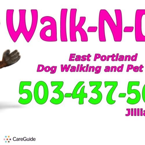 Pet Care Provider Walk-n-Dog Jillia Boston's Profile Picture