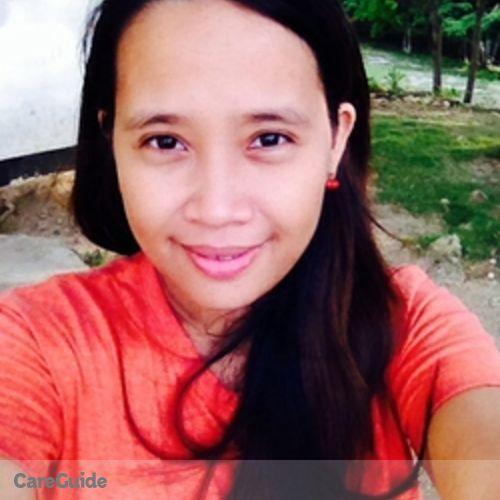 Canadian Nanny Provider Riza G's Profile Picture