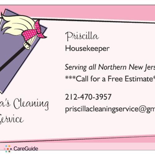 Housekeeper Provider Priscilla B's Profile Picture