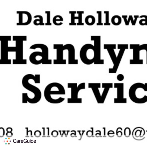 Handyman Provider Dale Holloway jr's Profile Picture