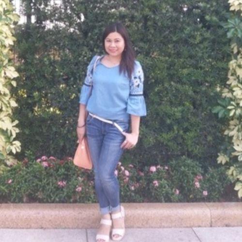 Canadian Nanny Provider Ma. Lourdes Valeria's Profile Picture