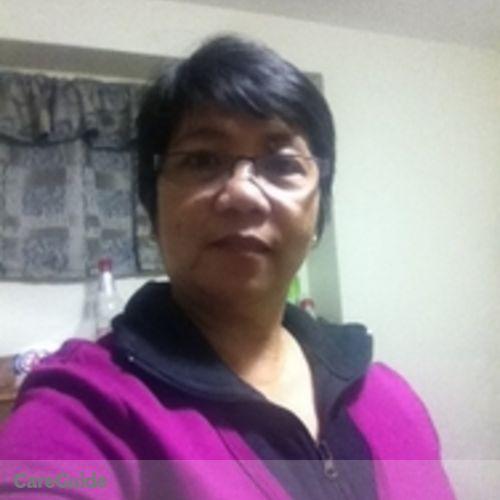 Canadian Nanny Provider Erlinda Mercado's Profile Picture
